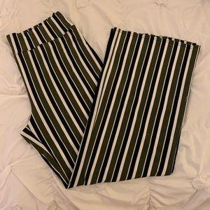 Express wide leg stretch pants